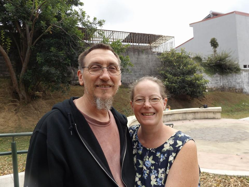 Jason and Corrine Flatt in Vargas Arraya