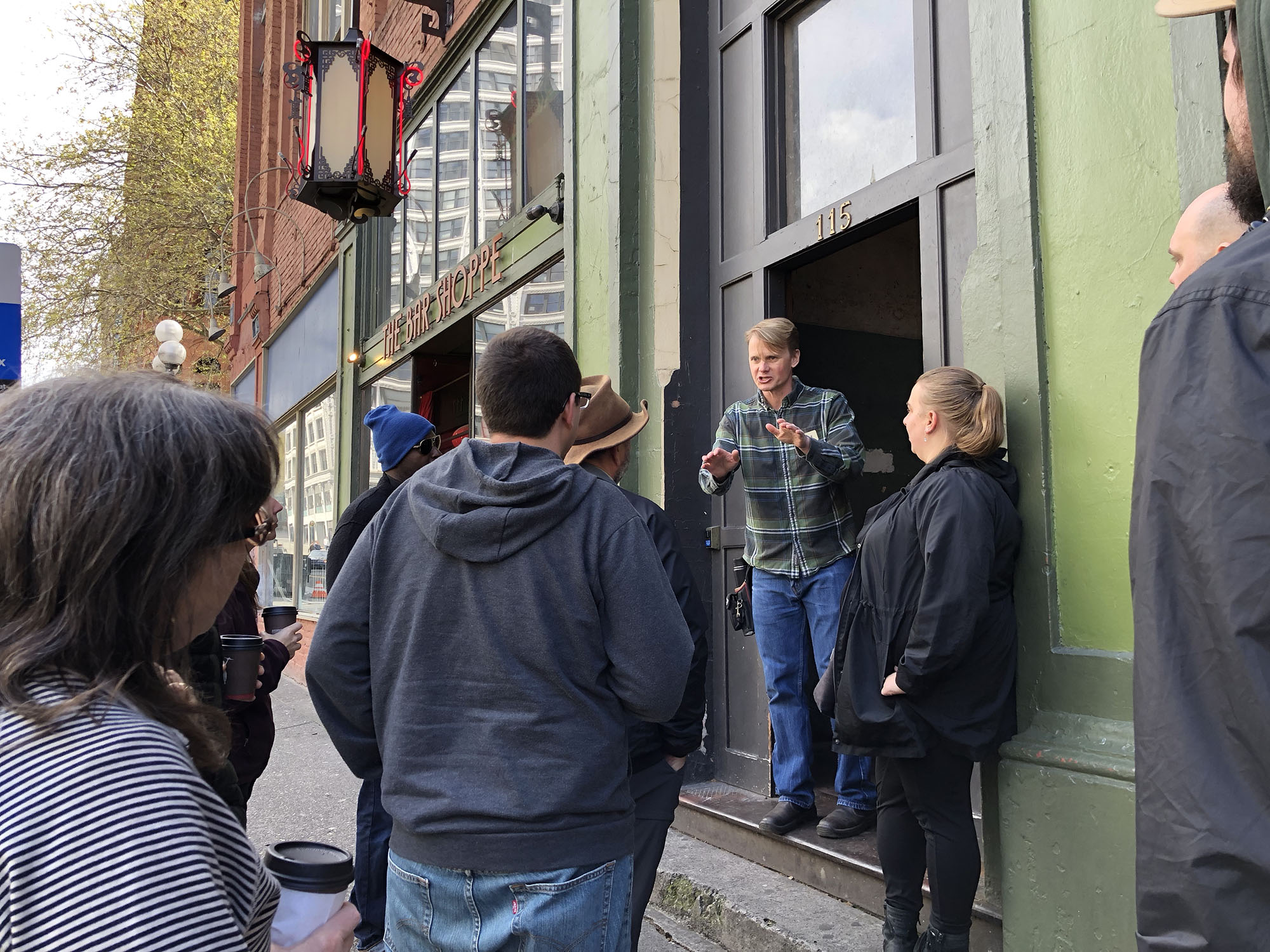 Hook 42 Team On The Seattle Underground Tour