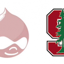 drupal and stanford logo