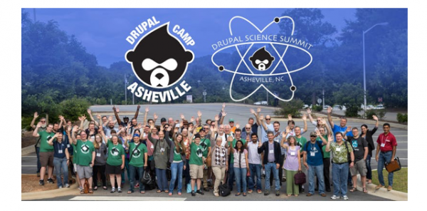 Asheville Drupal Camp team picture