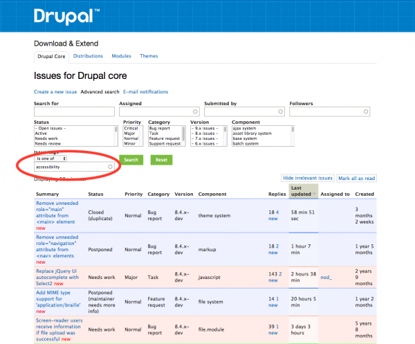 Drupal Issue Queue