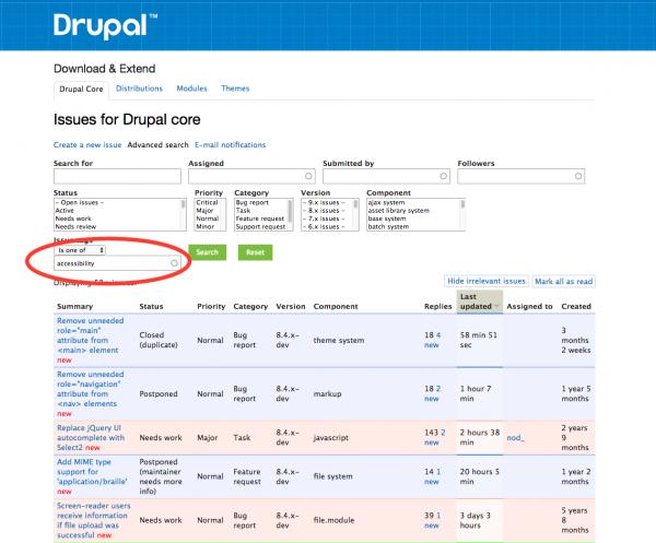 Drupal Issue Queue
