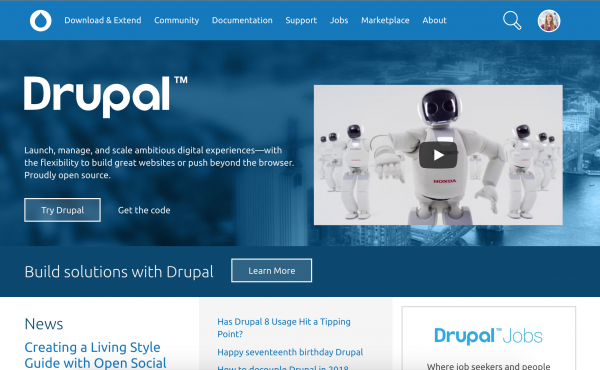 Drupal Home Page
