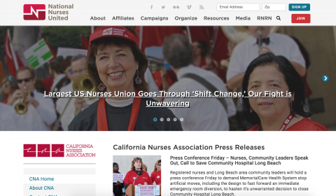 nnu california nurses association