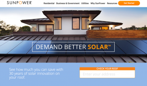 sunpower homepage
